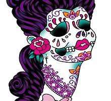 Sugar Skull by retroburp
