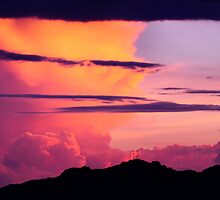 Cloudy Sunset  by Conor Quinlan