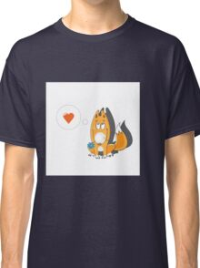 Lover foxes. Classic T-Shirt
