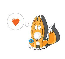 Lover foxes. by Voron4ihina