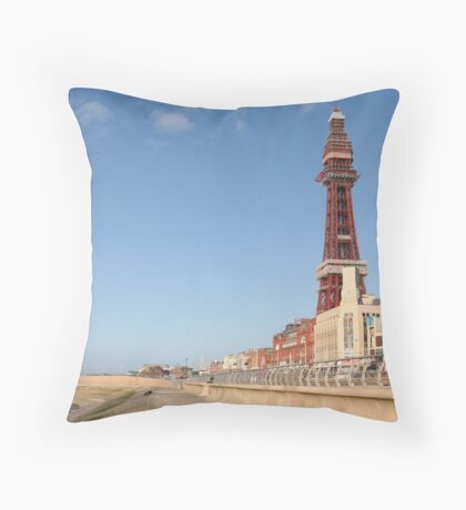 Blackpool. Throw Pillow