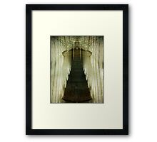 Stairway to the Unknown Framed Print