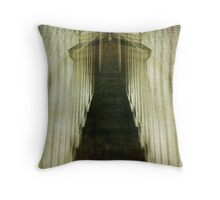 Stairway to the Unknown Throw Pillow