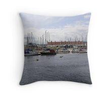 seaton marina Throw Pillow