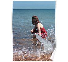 Mermaid Splash Poster