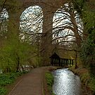 Walkway under the Viaduct by Tom Gomez