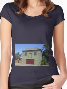 Smiling Garage, Newcastle NSW Australia Women's Fitted Scoop T-Shirt