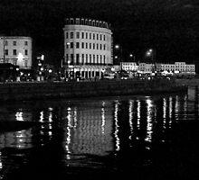 Margate at night by iwasframed