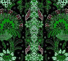 Batik 003 by myrbpix