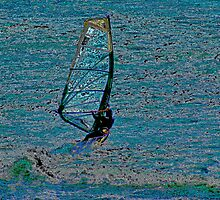 Windsurfer by Bob Wall
