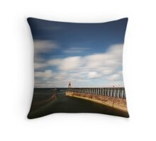Boat Trips, Whitby Throw Pillow