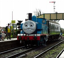 Thomas the Tank Engine by Wayne Gerard Trotman