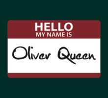"Nametag Parody: ""My Name is Oliver Queen"" by Christopher Bunye"