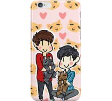Dan & Phil - Cats iPhone Case/Skin