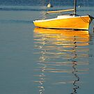 Boat, Bayside Harbor, Maine by fauselr