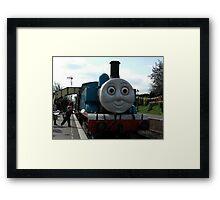 Thomas the Tank Engine Framed Print