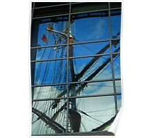 Tall Ship Stavros.S.Niarchos by Paula Poster