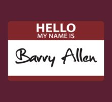 "Nametag Parody: ""My Name is Barry Allen"" by Christopher Bunye"