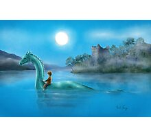 Sailing Nessie Photographic Print