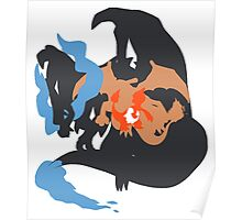 Pokemon At the Heart of Charizard Evolution Poster