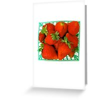 Care for a strawberry? Greeting Card