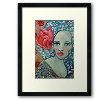La Rosa Framed Print