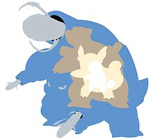 Pokemon At the Heart of Blastoise Evolution by Zanie