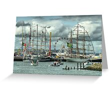 Tall Ships (2) Greeting Card