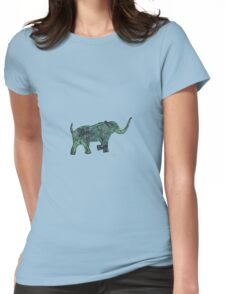 sd Elephant 6C Womens Fitted T-Shirt