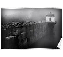 Mundaring  Weir Fog Poster