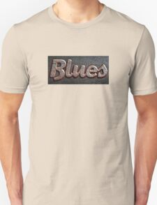 Blues rusty  sign  T-Shirt
