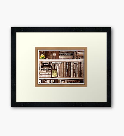 Favorite Things Framed Print