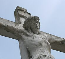 Jesus on the cross by Susan C. Snider