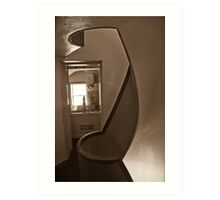 Light house stair 1 Art Print