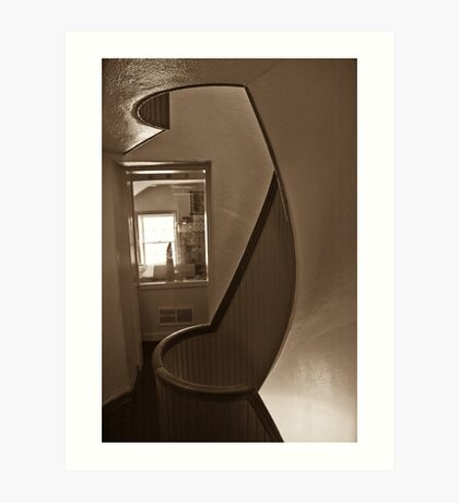 Light house stair 1 Art Print