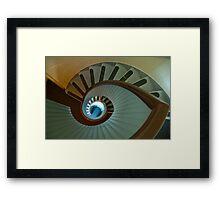 Light house stairs 2 Framed Print