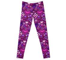 Lovestruck - Heart Pattern Leggings