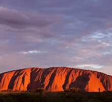 Uluru Sunset by Steven Pearce
