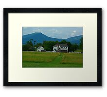 """""""Died on the Field of Honor, Sir"""" Framed Print"""
