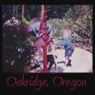 Oakridge, Oregon T-shirt by Dawna Morton