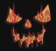 Evil Pumpkin by Linda Allan