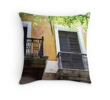 Spanish Doors Throw Pillow