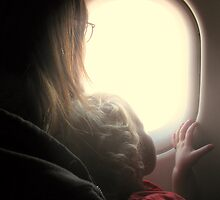 The plane ride by kat  -