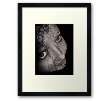I'd Take Down My Walls For You Framed Print
