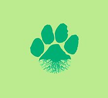 Fauna & Flora -  Earth Lover Green Paw by eelagreen