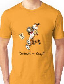 Dovahkiin and Khajiit We Know Unisex T-Shirt