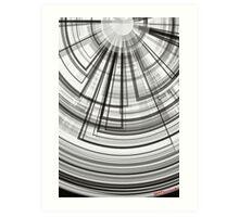 geometric abstract no.2 Art Print