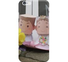 cute bride mr & mrs iPhone Case/Skin
