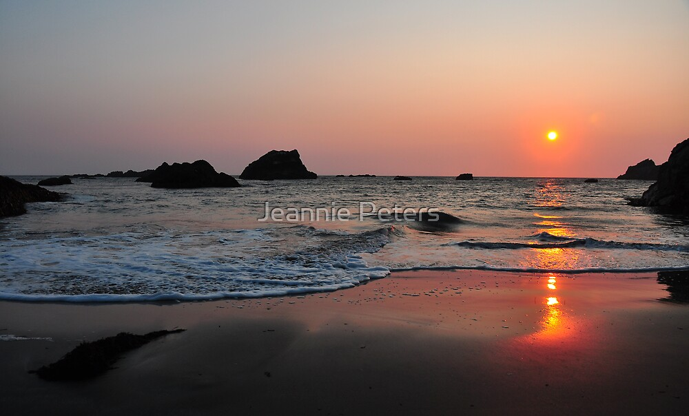 sunset by Jeannie Peters