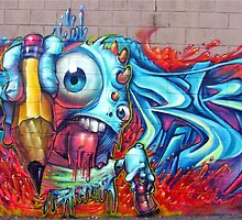 Graffiti Eye by graffitistore